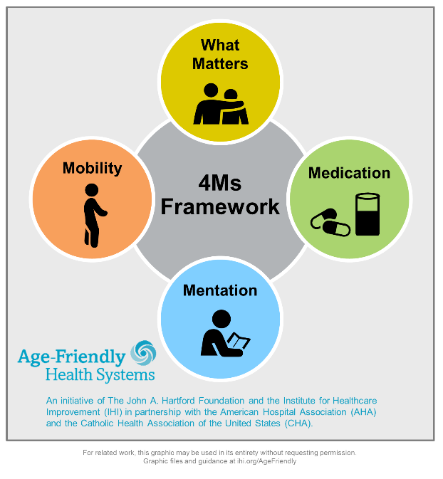 4Ms model infographic