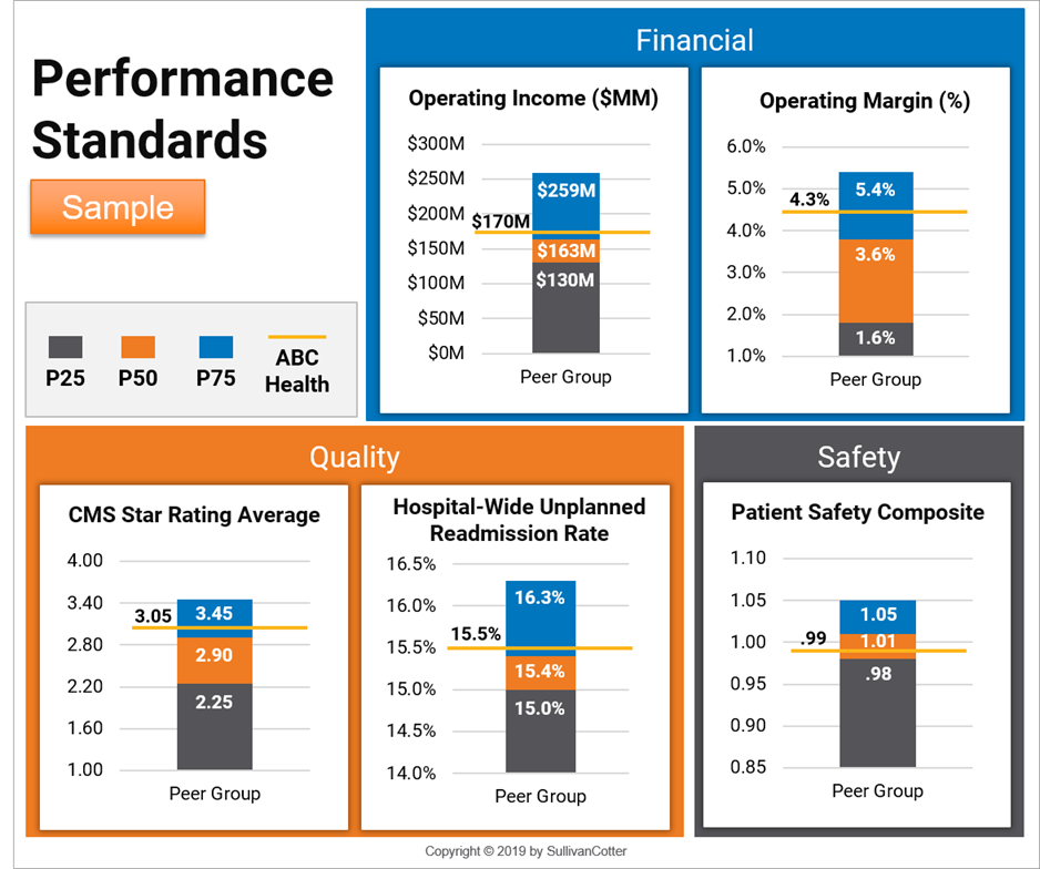 performance standards sample