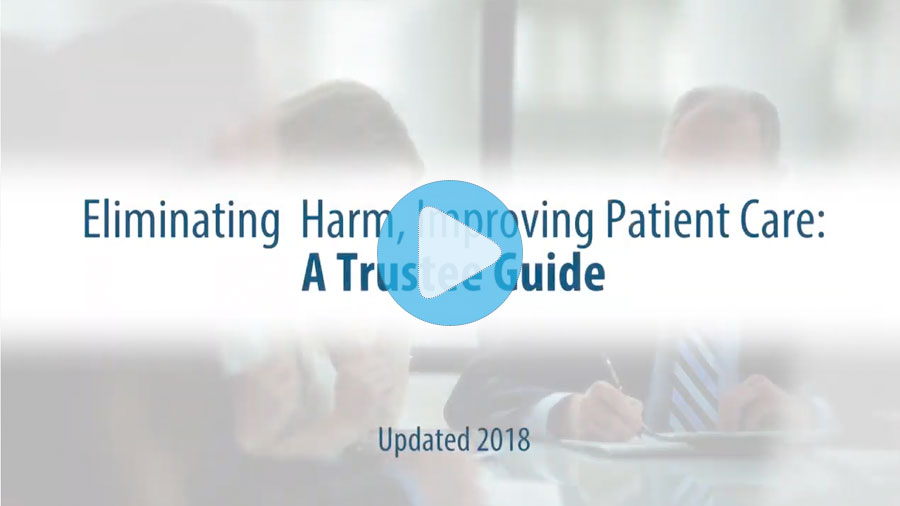 trustee guide to eliminating harm title card